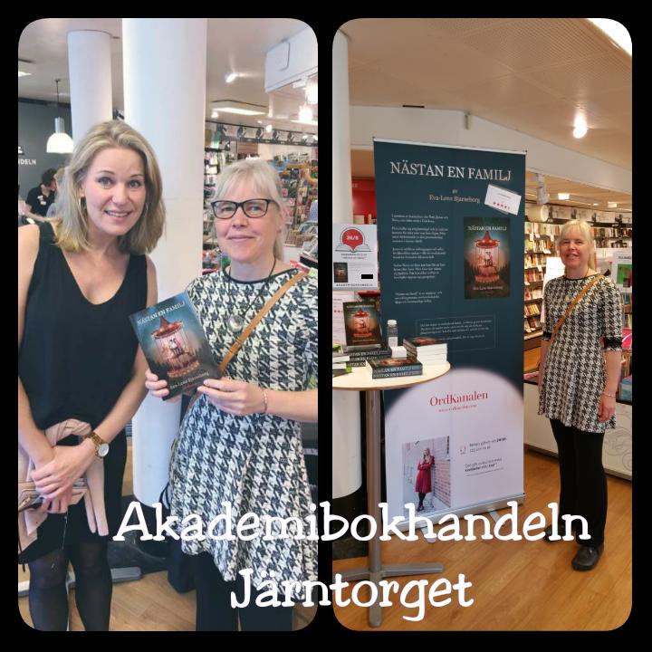 Signering på Akademibokhandeln, Järntorget