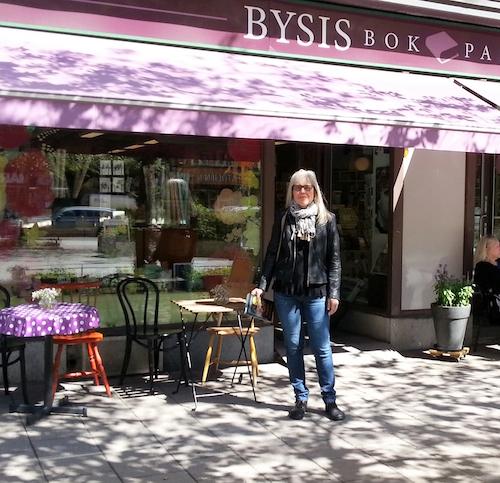 Eva-Lena Bjarneborg på Bysistorget